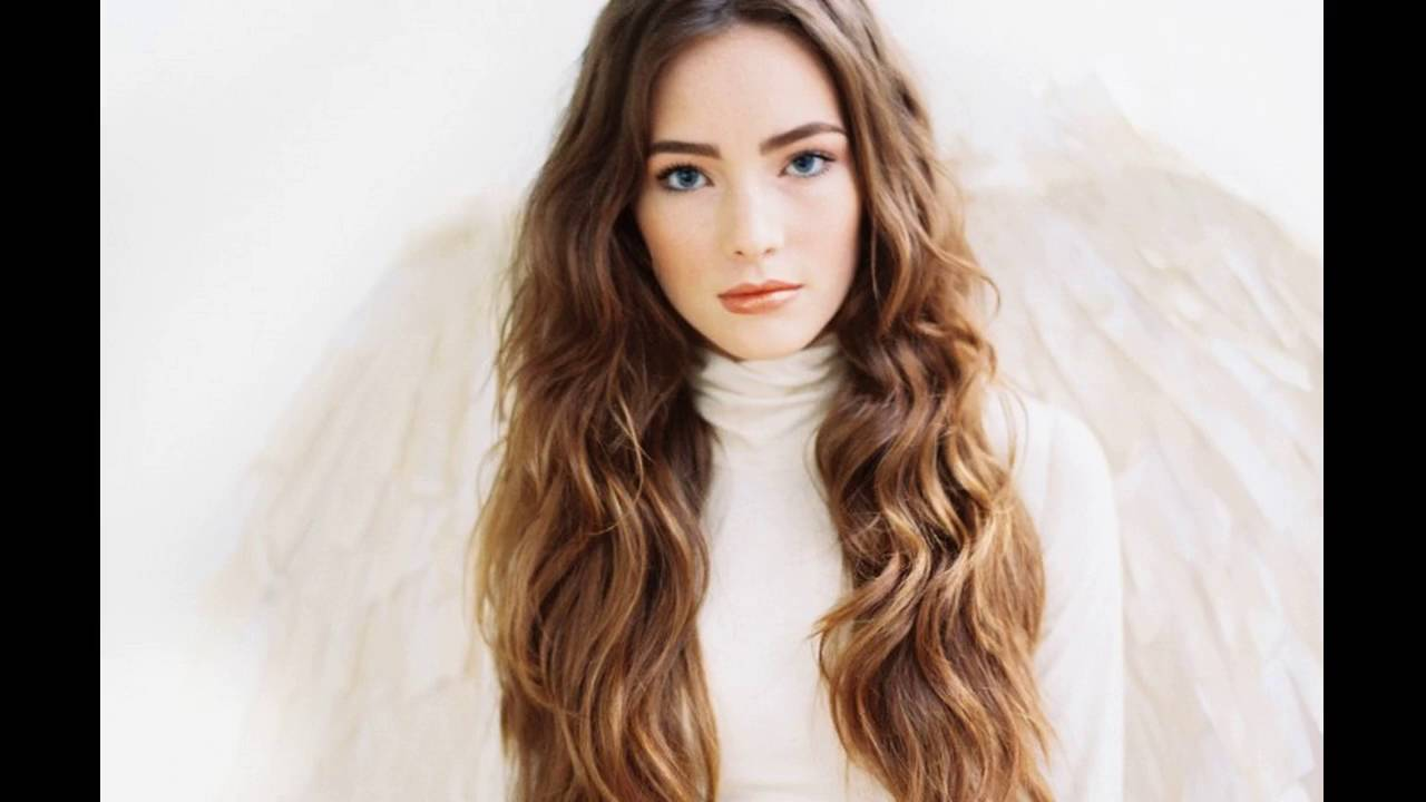 how to style middle part hair middle parting hairstyle for and wavy hair 7172