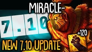 Miracle- plays the NEW 7.10 Update and Got melted by Clinkz RIP Armor Dota 2