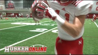 Rivals.com/HuskerOnline's Gregg Peterson takes one for the team