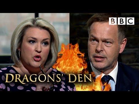 Epic bidding war breaks out in the Den 💷 | Dragons' Den - BBC