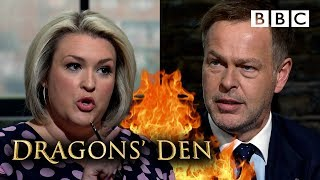 Epic bidding war breaks out in the Den 💷 | Dragons' Den - BBC
