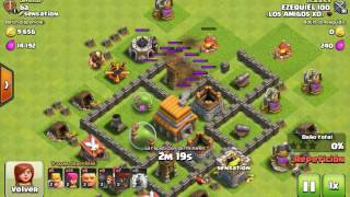 Como atacar y defender en clash of clans 1#