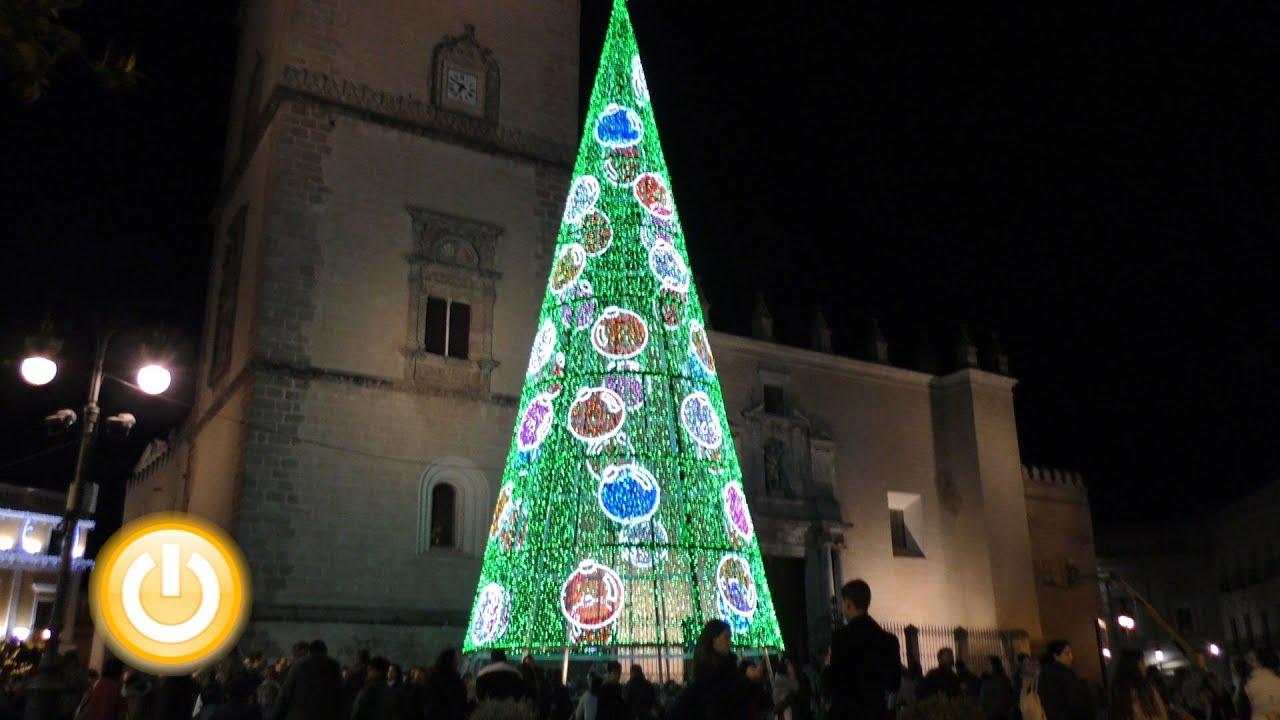 Badajoz cuenta atrs para la Navidad encendido luces decoracin