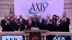 AXIS Capital Celebrates 10 Years of Trading on the NYSE