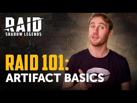 RAID: Shadow Legends | RAID 101 | Artifact Basics