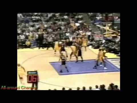 Glen Rice 21pts vs. Indiana 2000 Finals Gm2