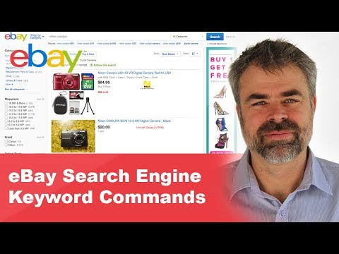 eBay Search Engine Keyword Commands
