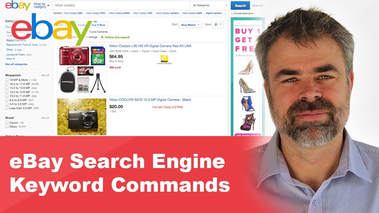 Ebay Search Engine Keyword Commands Youtube