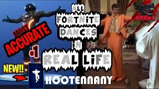 *NEW! Dance Hootenanny* ALL Fortnite Dances In Real Life | Most Accurate | Episode #1