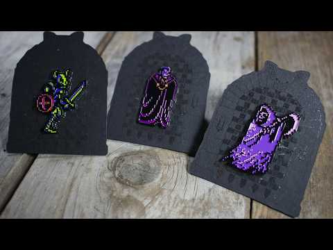 Castlevania Pin Set from Two Crows Printing