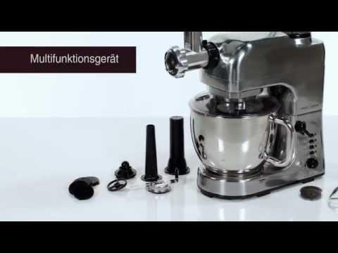 Proficook Procesador Alimentos KM1004 - YouTube