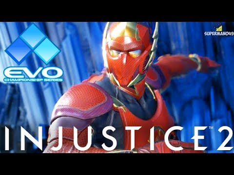 THE BEST FLASH IN THE WORLD! - Injustice 2 EVO 2017 Top 3 Best Matches!