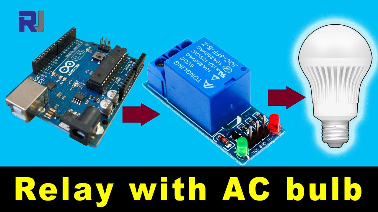Using 5v 1 Channel Relay Module For Arduino Youtube 12v Latching Circuit Kit 12023 Controllers Switches Electronic