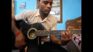 na tum jano na hum from kaho naa pyar hai on guitar chords