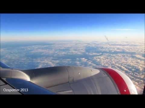 Landing In Sydney On Virgin Australia