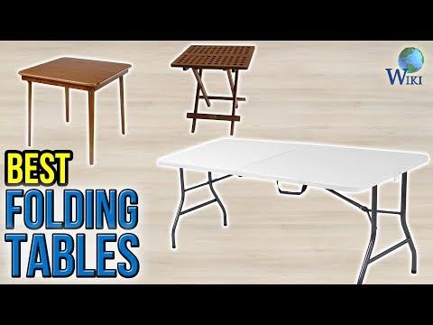 10 Best Folding Tables 2017   YouTube