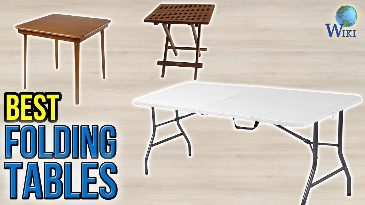 10 Best Folding Tables 2017
