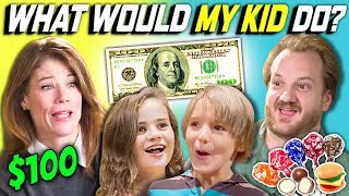 What do kids do when they get 100 dollars to buy whatever they want? Find out in What Would My Kid Do?! Watch all main React episodes ...
