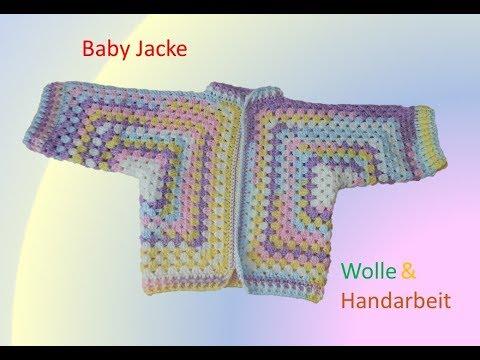 Baby Jacke Häkeln