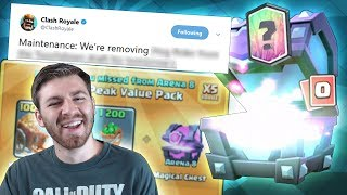 THIS CARD IS GETTING REMOVED!?! BIG CHANGES IN TOUCHDOWN | Clash Royale | UPDATE NEWS!