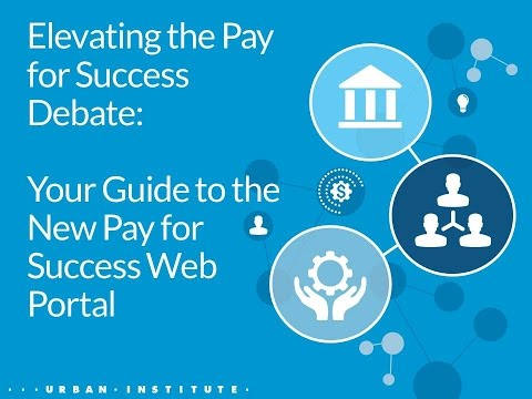 Elevating the Pay for Success Debate Your Guide to the New Pay for Success Web Portal 20160407 1700