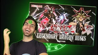 Best YuGiOh Legendary Dragons Deck Opening & Review! The Dragons of Atlantis Return. OH BABY!!