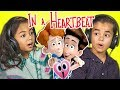 KIDS REACT TO IN A HEARTBEAT (Animated S