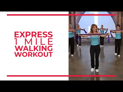 Express 1 Mile Walking Workout | Leslie Sansone's Walk At Home