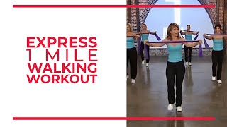 express 1 mile walking workout leslie sansones walk at home