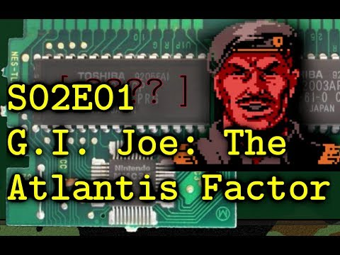 G.I.Joe The Atlantis Factor ※ Cracking VG Passwords S2e1