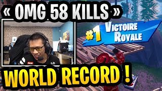 WORLD RECORD 58 KILLS KINSTAAR 🏆 SAF CLUTCH AU SECRET SKIRMISH | BEST OF FORTNITE #11