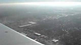 landing in Wichita, Kansas