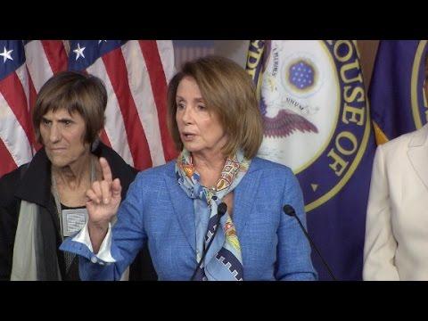 Nancy Pelosi: 'Bill Clinton is not on the ballot'
