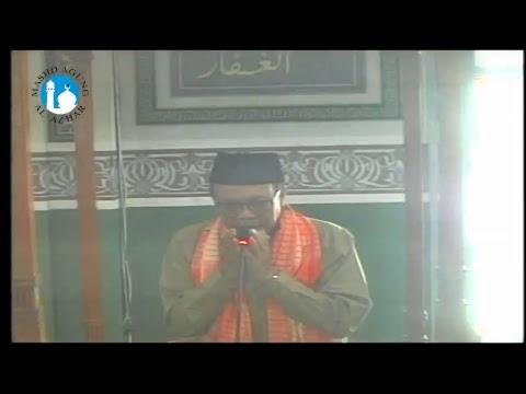 Khutbah Jum'at, 26 Mei 2017 - Prof. Dr. H. Amin Summa