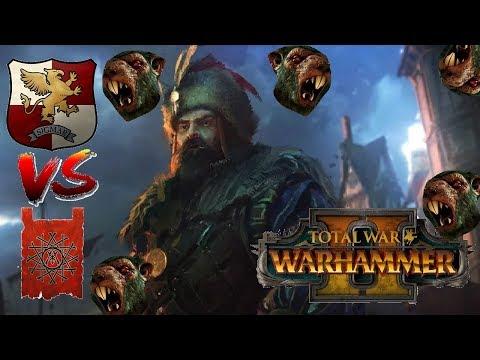 Markus THE RAT HUNTER   Empire Vs Skaven - Total War Warhammer 2