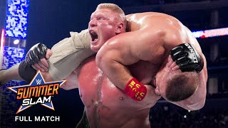 FULL MATCH - John Cena vs. Brock Lesnar - WWE Title Match: SummerSlam 2014