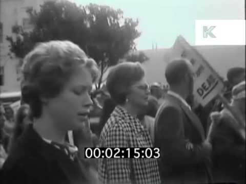 1960s Peace Protest Against Vietnam War, USA