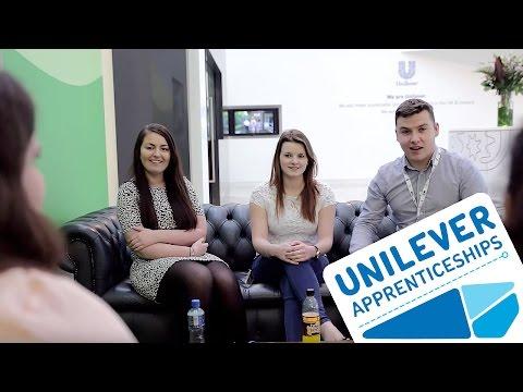 Unilever Business Admin Apprenticeship Graduates 2015