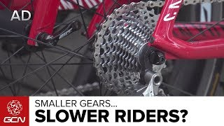 Smaller Gears, Slower Riders? Tour de France Gears Explained | Tour de France 2017