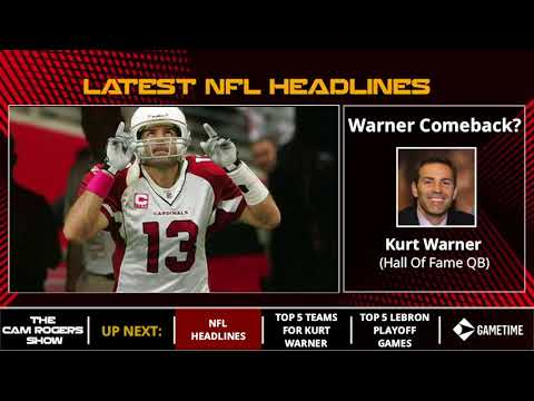 NFL News: Johnny Manziel Hospitalized, Kurt Warner Comeback, & Carson Wentz Rehab