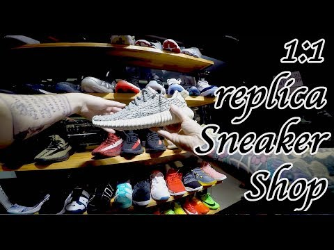 1:1 Yeezy, Jordan replica sneaker shop. South China fashion and style.