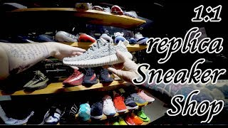 1:1 Yeezy, Jordan replica sneaker shop. South China fashion and style.
