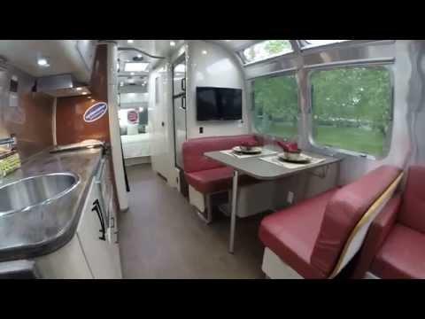 Walk Through 2016 Airstream International Serenity 30W Travel Trailer - Hershey Rv Show Edition