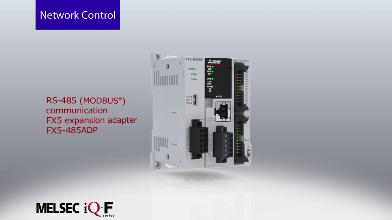 PLC - Programmable Logic Controllers - FX5 - Adroit Technologies