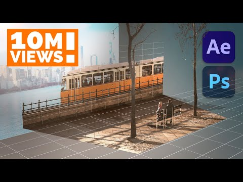 Create a 3D Scene from a Single Photo in After Effects   In-Depth PARALLAX Tutorial