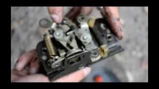видео Процесс ремонта замка