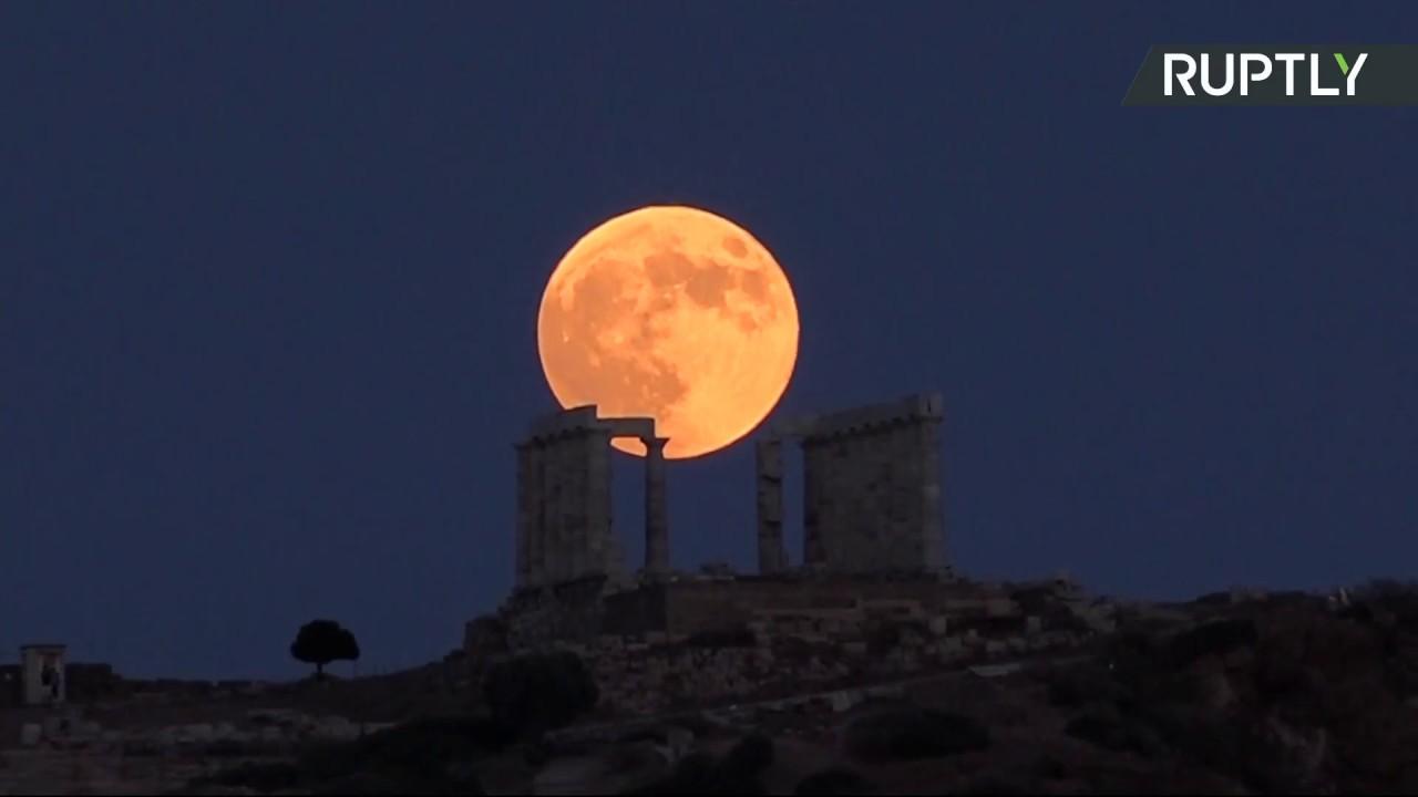 Полное лунное затмение, 27.07.2018