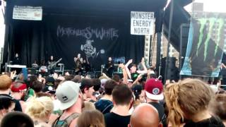 570 new song motionless in white vans warped tour 2016