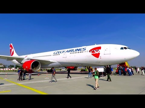 TRIP REPORT | CZECH AIRLINES | A330-300 | SPECIAL FLIGHT | Prague - Bratislava - Prague | Economy