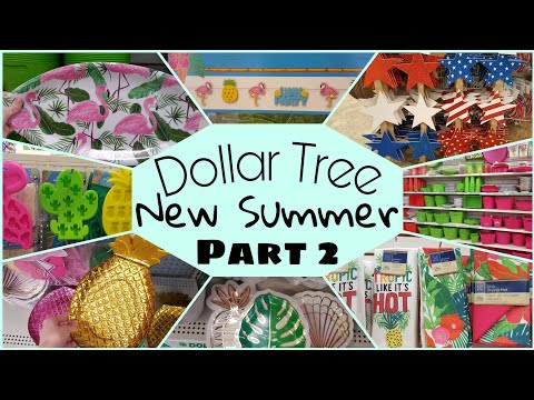 Dollar Tree New Summer Items 2019 Part 2 • summer party and dish patterns